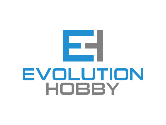 Evolution Hobby logo design