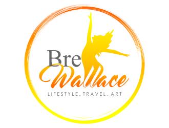 Bre Wallace logo design