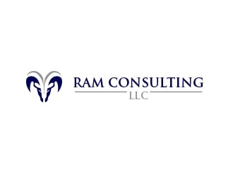 RAM Consulting LLC logo design