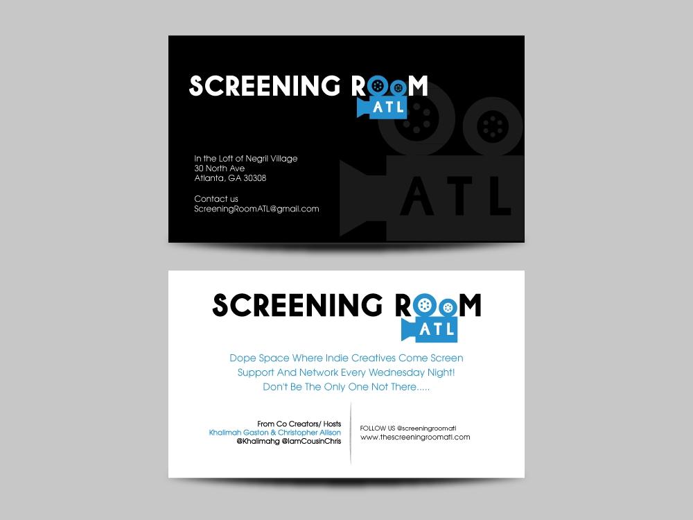 Screening Room Atl  logo design