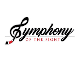 Symphony of the fight logo design