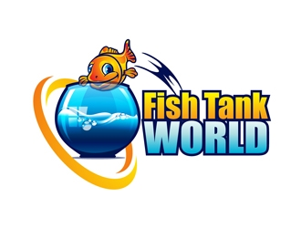 Fish Tank World logo design