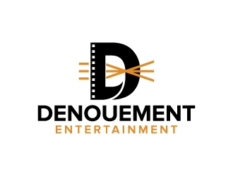Denouement Entertainment logo design