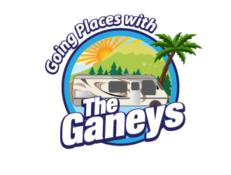 Going Places with the Ganeys logo design