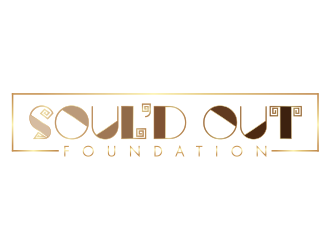 SOULD OUT Foundation logo design