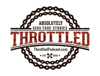 Throttled logo design