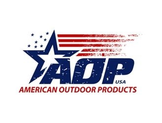 AMERICAN OUTDOOR PRODUCTS logo design