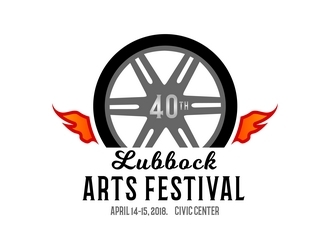 Lubbock Arts Festival logo design