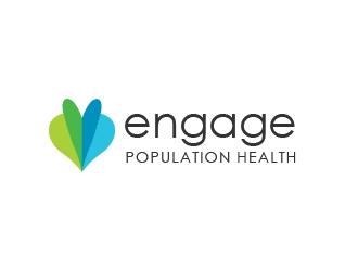 Engage Population Health logo design