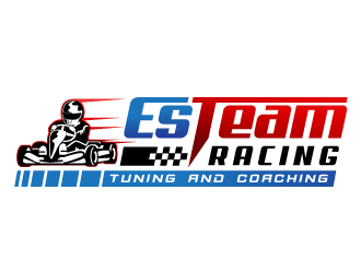 EsTeam Racing logo design