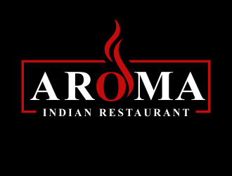 AROMA INDIAN RESTAUTANT logo design