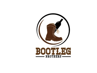 Bootleg brothers logo design
