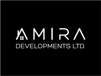 Amira Developments Ltd. logo design