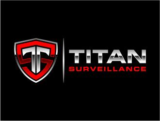 Titan Surveillance logo design