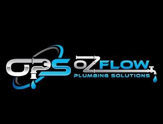 Ozflow Plumbing Solutions logo design