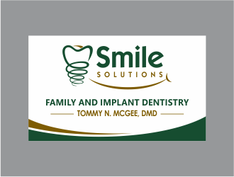 Smile Solutions logo design