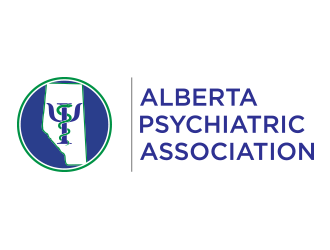 Alberta Psychiatric Association logo design