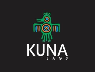 KUNA bags logo design