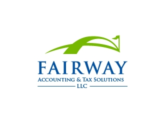 Fairway Accounting & Tax Solutions, LLC logo design