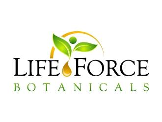 Life Force Botanicals logo design