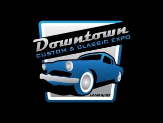 Downtown Custom & Classic Expo logo design