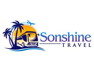 Sonshine Travel logo design
