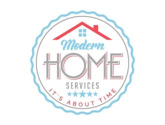 Modern Home Services logo design