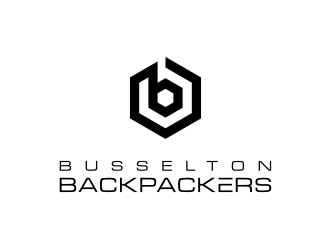 Busselton Backpackers logo design
