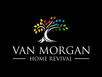 Van Morgan Home Revival logo design