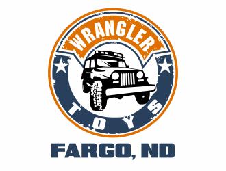 Wrangler Toys logo design