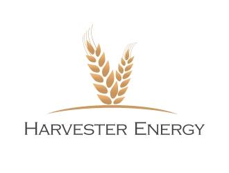 Harvester Energy  logo design