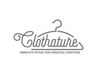 CLOTHATURE logo design