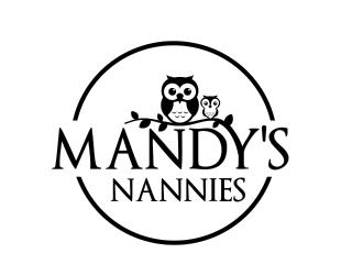 Mandy's Nannies logo design