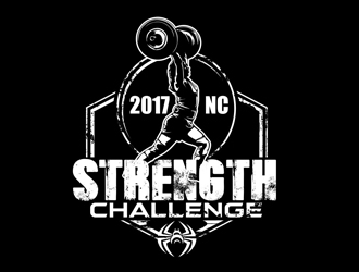 2017 NC Strength Challenge logo design