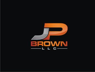 JP BROWN LLC logo design