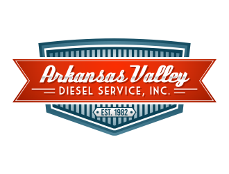 Arkansas Valley Diesel Service, Inc. logo design