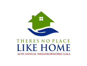 Theres No Place Like Home  -  36th Annual NeighborWorks Gala logo design