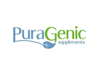 Puragenic logo design