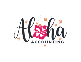 Aloha Accounting  logo design