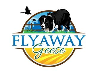 FlyAway Geese logo design