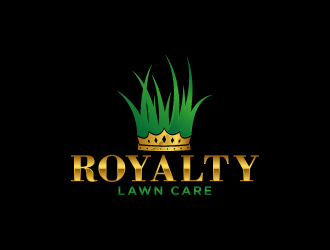 Royalty Lawn Care logo design