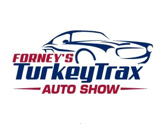 Forneys Turkey Trax Auto Show logo design
