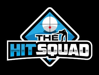 The Hit Squad logo design