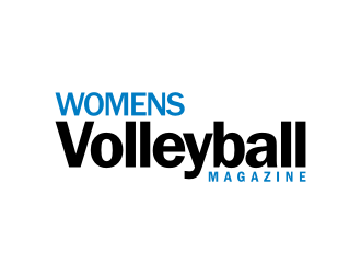 Womens Volleyball Magazine logo design
