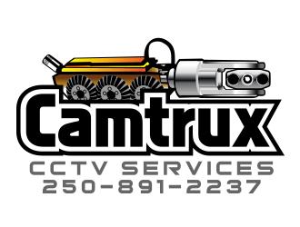 Camtrux CCTV Services  logo design