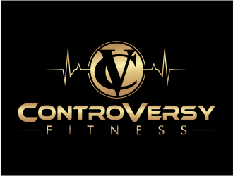 ControVersy life, fitness and apparel logo design