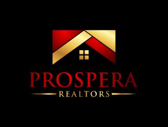 PROSPERA REALTORS logo design