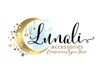 LUNALI logo design