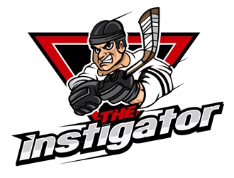 THE INSTIGATOR logo design
