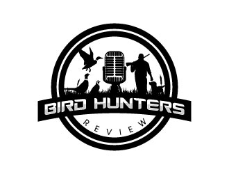 Bird Hunters Review  logo design